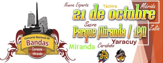 Te esperamos el 21 de octubre en el Parque Miranda